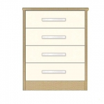 4-Drawer Narrow: £191  + £29.00